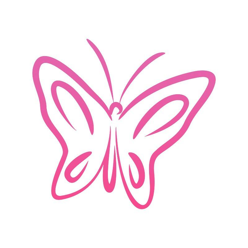 """Наліпка """"Метелик"""" / Виниловая наклейка """"Бабочка"""""""