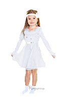 Детский карнавальный костюм Снежинки Код 9132