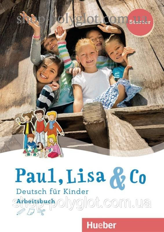 Рабочая тетрадь Paul, Lisa und Co Starter Arbeitsbuch