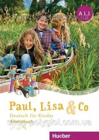 Рабочая тетрадь Paul, Lisa und Co A1.1 Arbeitsbuch