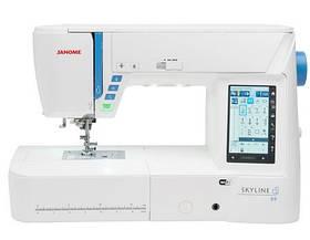 Швейно-вишивальна машина JANOME Skyline S9