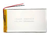 Аккумулятор 5500mAh 3.7v 4070125 для планшетов