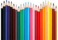 Набор цветных карандашей Xiaomi Bravokids 48 шт (простые+водные) EU.