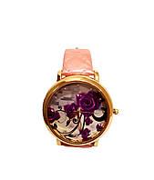 Часы женские CFTY Розовые ФР-0032, КОД: 111947