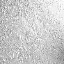 Бесшовная потолочная плитка из пенополистирола, белая 50х50 см