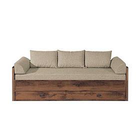 ИНДИАНА(л) Кровать раздвижная JLOZ 80/160+матрас+подушки без ламелей