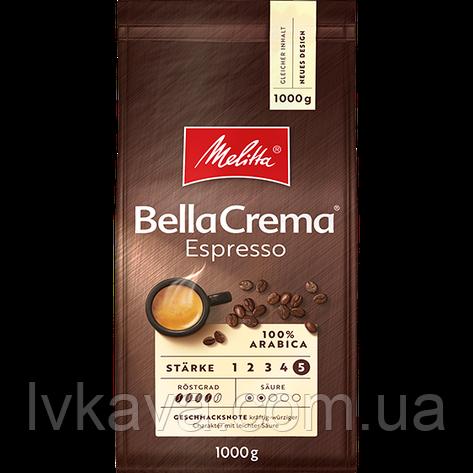 Кофе в зернах  Melitta BellaCrema Espresso,  1 кг, фото 2
