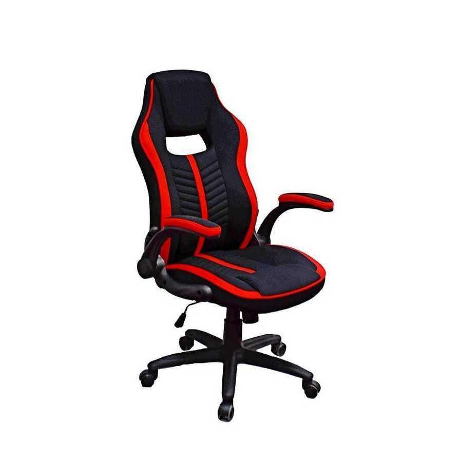 Крісло офісне Prime black/red Special4You