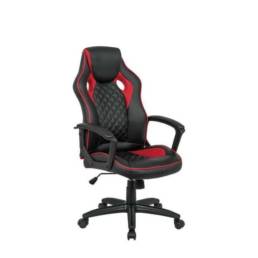 Крісло офісне Mezzo black/red Special4You