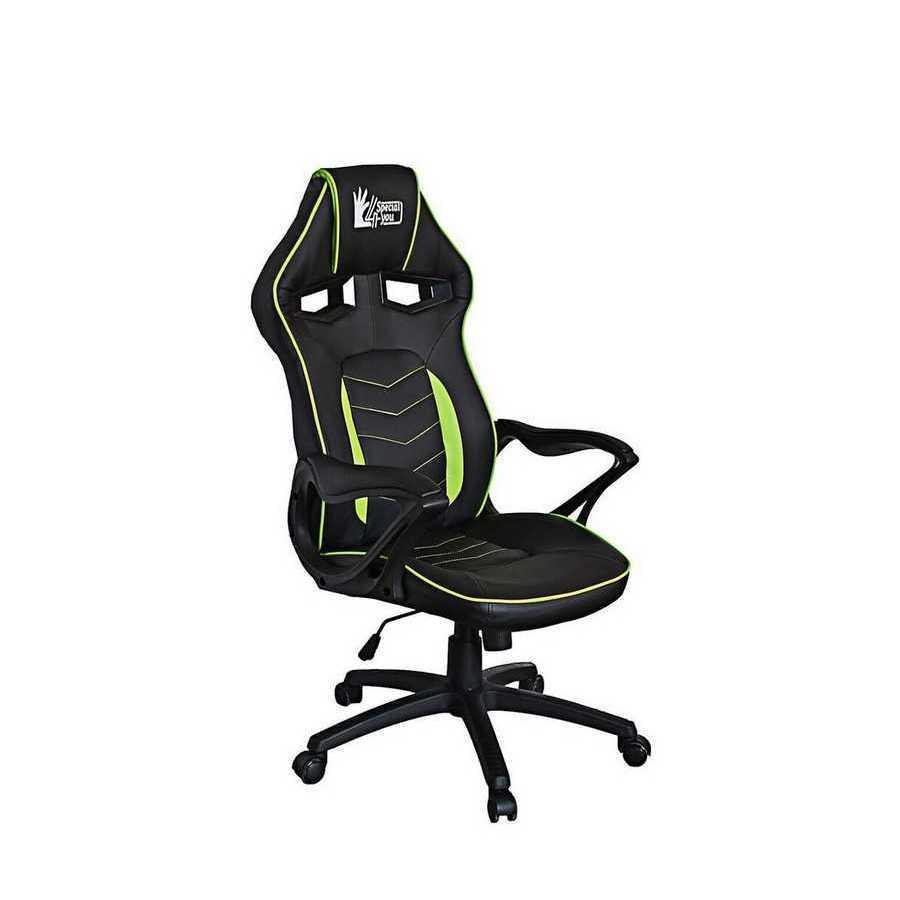 Крісло офісне Nitro black/green Special4You