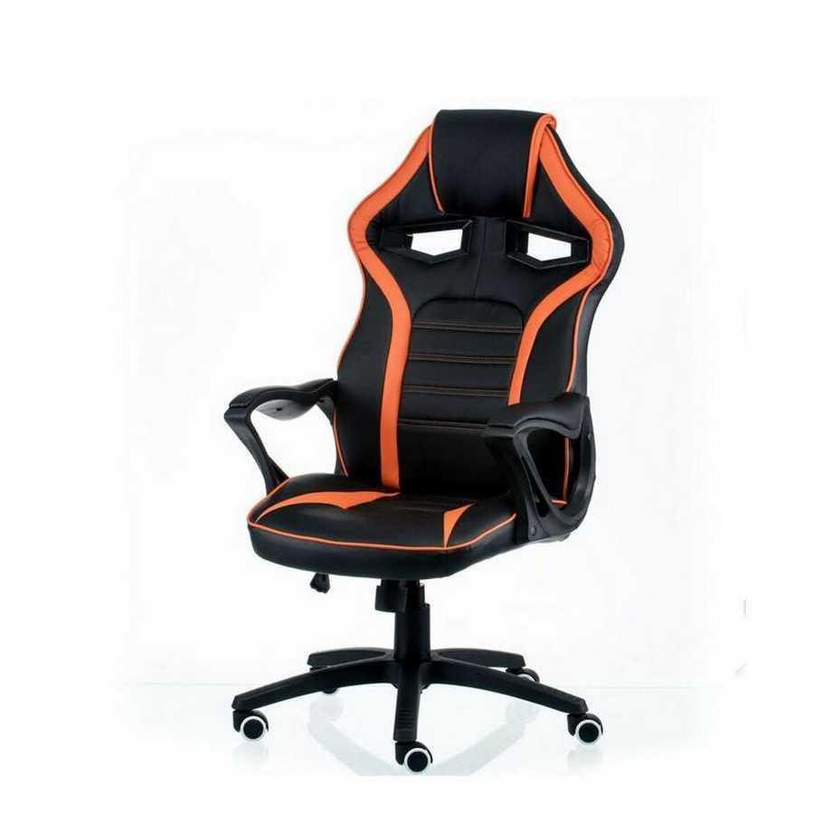 Крісло офісне Game black/orange Special4You