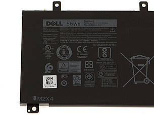 Оригинальная батарея Dell  XPS 15 9560 9570 (H5H20 - 11.4V 56Wh) - Аккумулятор, АКБ, фото 2