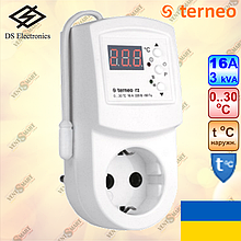 Терморегулятор Terneo RZ для инфракрасных обогревателей (16A, 3000W)