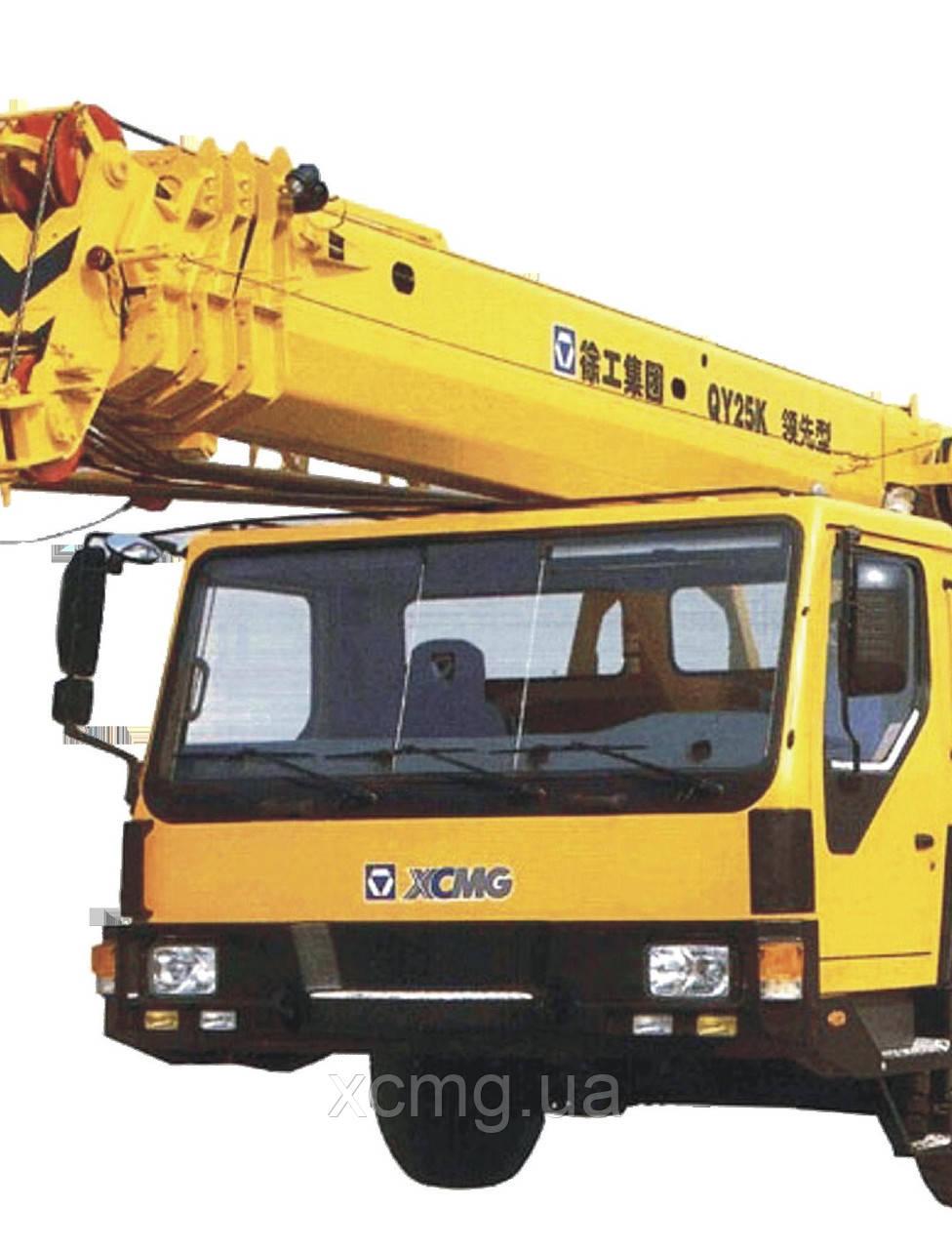 Лобове скло кабіни для водія автокрана QY25k5
