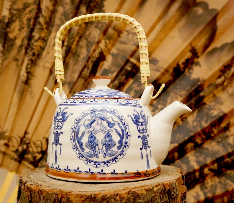 """9200067 Чайник - заварник """"Тибет"""" фаянс №13"""