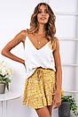 Летняя принтованная юбка - солнце с оборками 78si416, фото 2