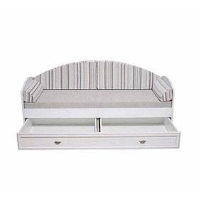 САЛЕРНО Кровать с ящиком LOZ80 (Светло бежевый) без ламелей