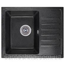 Плита гранітна мийка Cosh 5546 kolor 420 (Чорна)