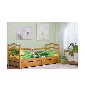 Кровать детская из массива дерева София