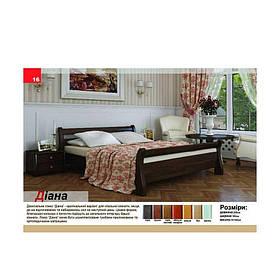 Двуспальная кровать из массива дерева Диана
