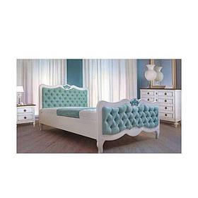 Кровать двуспальная из массива дерева Элен