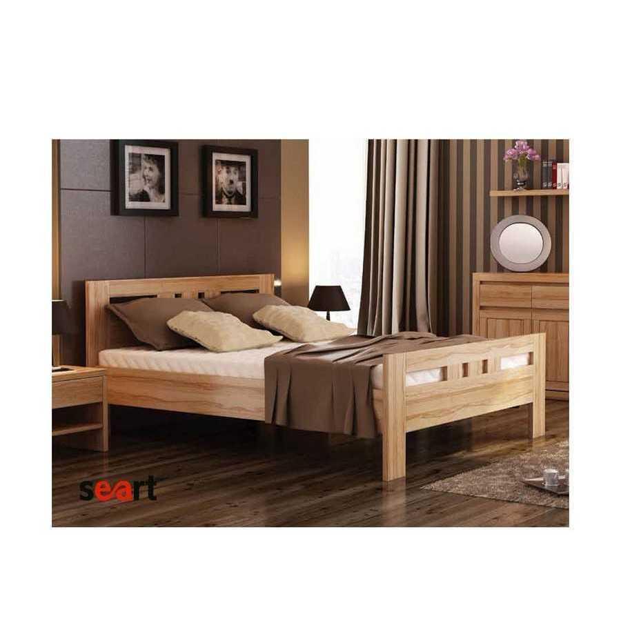 Ліжко з масиву дерева Єлизавета