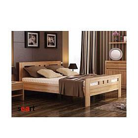 Кровать двуспальная из массива дерева Соната
