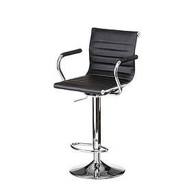 Барний стілець Bar black platе Special4You