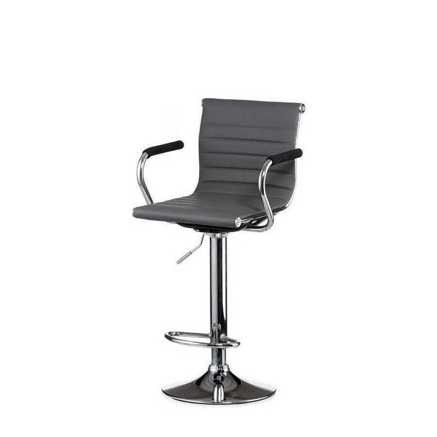 Барний стілець Bar grey plate Special4You
