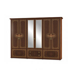 Шкаф 6Д Алабама Мебель-Сервис