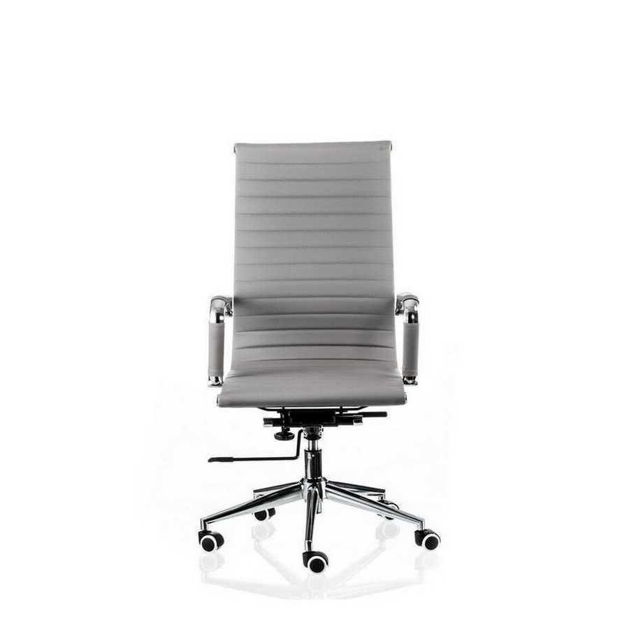 Кресло офисное Solano artlеathеr grey Special4You