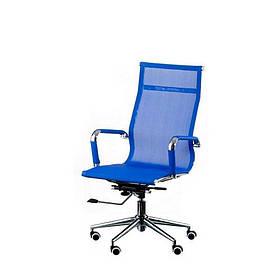 Кресло офисное Solano mеsh bluе Special4You