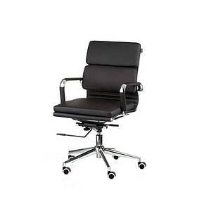 Крісло офісне Solano 3 artlеathеr black Special4You