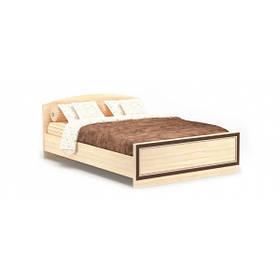 Кровать двуспальная в детскую комнату из ДСП/МДФ 140 Дисней Мебель Сервис без ламелей