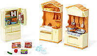 Набор Sylvanian Families кухня Calico Critters Kitchen Play Set
