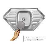 Кухонная мойка Imperial 9550-D Decor (IMP9550DDEC), фото 3