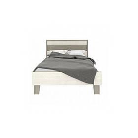 Кровать односпальная из ДСП 90*200 Сара Сокме Пино Аурелио/Мадагаскар Нельсон без ламелей