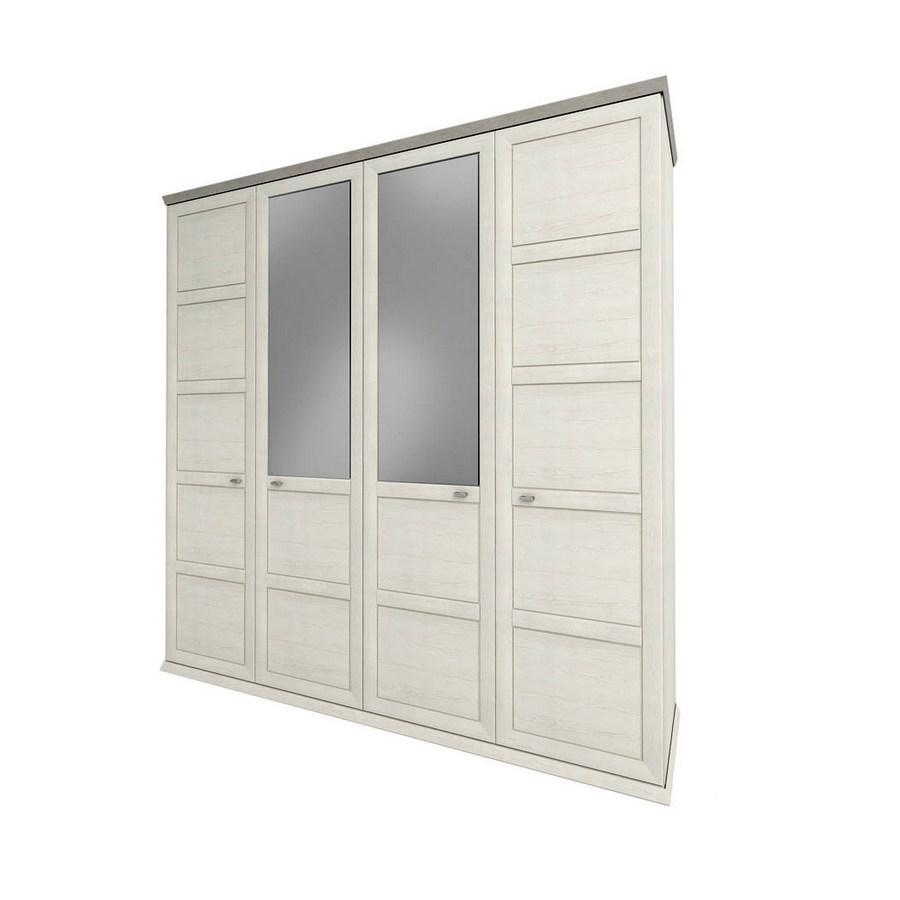 Шкаф распашной в спальню, в прихожую из ДСП Орегон 4Д Сокме Пино Аурелио/Мадагаскар Нельсон