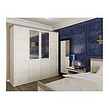 Шкаф распашной в спальню, в прихожую из ДСП Орегон 4Д Сокме Пино Аурелио/Мадагаскар Нельсон, фото 4