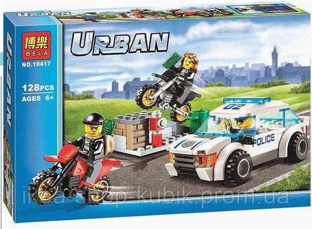 Конструктор Bela Urban 10417 Швидкісна поліцейська гонитва