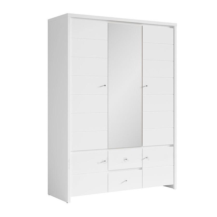 Шкаф пятидверный распашной SZF5D2S(В) в спальню из ДСП Кристина