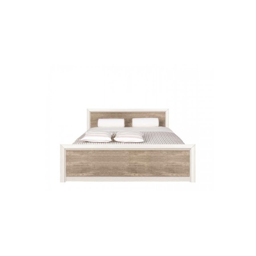 Кровать двуспальная из ДСП LOZ / 160 Коен 2 без ламелей