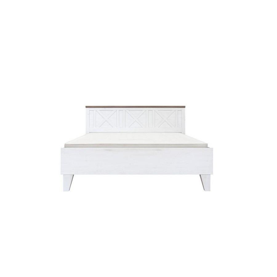 Кровать двуспальная LOZ/180 (каркас) из ДСП Тина без ламелей