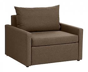 Кресло кровать PROGRESS sofas&beds Кельн 103х92 см Коричневый