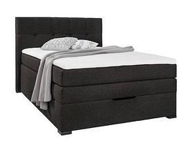 Кровать PROGRESS sofas&beds Амелия Boxspring 132х211 см Черный