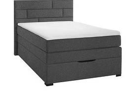 Кровать PROGRESS sofas&beds Спейс Boxspring 131х211 см Серый