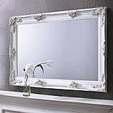 Зеркало настенное в спальню, в прихожую Манчестер 810х1280 MR-71-WH MiroMark белый, фото 2