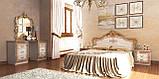 Туалетний столик в спальню Дженіфер 6Ш JF-76-RB MiroMark бежевий, фото 3