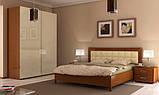 Тумба прикроватная в спальню Белла 2Ш BL-52-VN MiroMark вишня бюзум, фото 2
