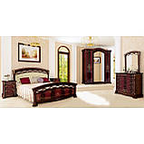 Комод в спальню, в гостиную, в детскую Роселла 5Ш RS-65-PR MiroMark перо рубино, фото 3
